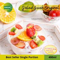400ml - Salad Buah / Fruit Salad / Salad Cup Box / Cemilan to Go