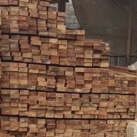 Balok kayu bangunan 6x12 eceran MC jambi