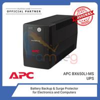 APC Ups BX650LI-MS 650VA Back-UPS AVR Universal Sockets 230V 325 Watt