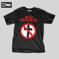 T-SHIRT // KAOS BAND BAD RELIGION // KAOS DISTRO