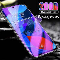 IPHONE 5 5S SE HYDROGEL ANTI BLUE LIGHT ANTI GORES FULL COVER - FRONT