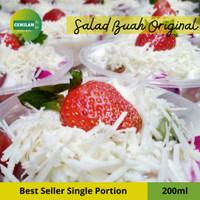 200ml - Salad Buah / Fruit Salad / Salad Cup Box / Cemilan to Go
