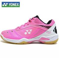 Yonex Sepatu Badminton Shb-65Wex Original - Merah Muda Otsukaeshop