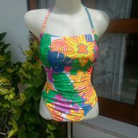 Monokini baju renang sunplan co.ltd preloved