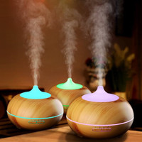 Air Humidifier Aroma Diffuser Essens Oil 7 LED - 400ML