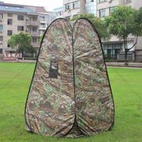 Tenda Toilet Mandi Ruang Ganti Baju Camping Portable - Camuflase