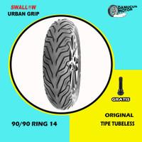 Ban Motor Matic // SWALLOW URBAN GRIP 90/90 Ring 14 Tubeless