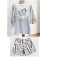 Baju tidur Setelan Dewasa YOUNG HEARTS 0788 - Sleeping Penguin