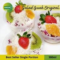 300ml - Salad Buah / Fruit Salad / Salad Cup Box / Cemilan to Go