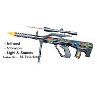 Mainan Anak Pistol Tembak Senapan Styer Aug Armee Universal Gun