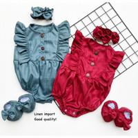 Kelly Jumper Set / Jumper Bayi Perempuan Lucu Murah / Baju Bayi Cewe