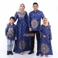 Baju Batik Kondangan Keluarga Ayah Ibu Anak Cowo Cewe Seragaman Elegan