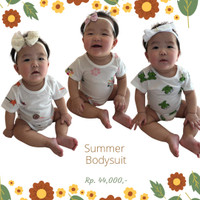 Baju bayi pakaian bayi jumper bayi Hachi summer bodysuit original