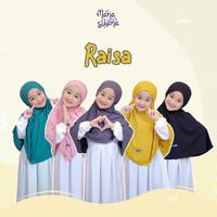 Jilbab Tali Anak dan Dewasa RAISA Original by Manasikana, bahan adem