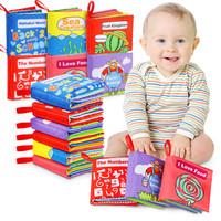 ECM Buku Bantal BAYI /BUKU KAIN BAYI /Mainan Edukasi Buku /Buku Banta
