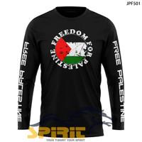 Kaos T-Shirt Islami Freedom For Palestine Baju Dakwah Palestina Gaza