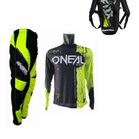 Jersey Baju Set Celana Oneal Trail Plus tas