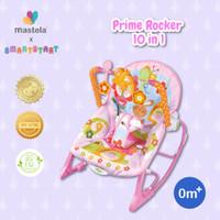 MASTELA Rocker Prime Infant To Toddler / Bouncer / Kursi Bayi - PINK