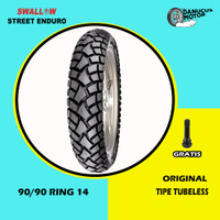 Ban Motor Matic // SWALLOW STREET ENDURO 90/90 Ring 14 Tubeless