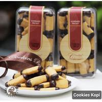 Coffee Drop deBrontos Cookies Kue Kering Kopi 350 gram