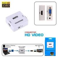 MINI HDMI TO AV RCA ADAPTER MINI HDMI2AV CONVERTER BOX 1080P