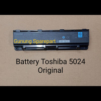 Baterai TOSHIBA ORIGINAL 5024 C800 C840 C845 C850 C40 A C40 B C50 A