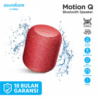 ANKER Soundcore Motion Q Portable Bluetooth Speaker A3108 - Merah
