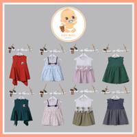 MBQ KOREAN DRESS Baju Dress Korea Anak Bayi Perempuan 100% IMPOR