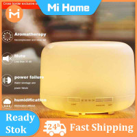 500ML Ultrasonic Aroma Diffuser Humidifier Air Purifier 7 Color LED