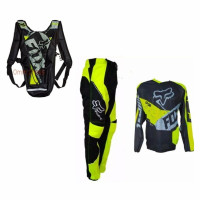 Jersey Baju Set Celana Trail Plus tas Foxx