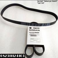 Fanbelt / Fan Belt / Tali Kipas Nissan March / Datsun Go 7PK 1165