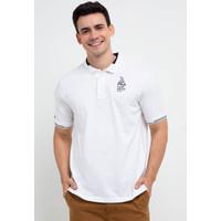 FILA Baju Kaos Polo Pria Sailo - White