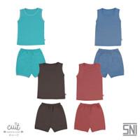 CUIT Setelan Kutung Block Color Kojo Series