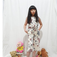 Zelaya - Fiona Girl Set Baju Celana Batik Anak Perempuan