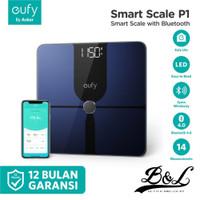 Timbangan Badan Smart Scale EUFY P1 Bluetooth - Biru