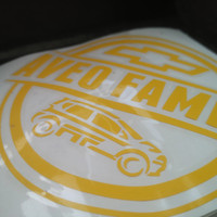 Cutting Sticker Stiker Oracal AveoFamily indonesia