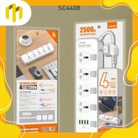 LDNIO SC4408 stop kontak colokan listrik universal & USB fast charger