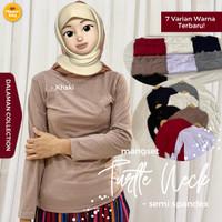 Manset Kaos Wanita / Manset Baju muslim / Inner wanita muslim / Manset