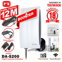 Antena Digital PX Outdoor DA-5200 Indoor Antenna TV LCD LED DA5200