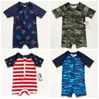 [4 MOTIF] Baju Renang Bayi Balita Laki Laki 0-2y