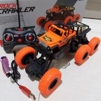 MOBIL REMOTE KONTROL, RC ROCK CRAWLER 6 BAN, 4WD