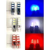 Lampu Sen Motor Mobil Sein Jelly Kedip Senja 6 Led T10 1 Pasang Lampu