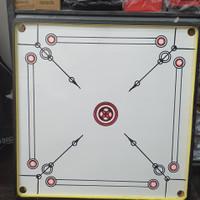 Mainan Meja Karambol / Carambol - Game Board 95x95 cm