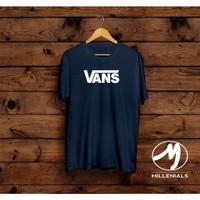 T-shirt Vans / Baju Kaos Distro Pria Vans Pendek Trend Kekinian