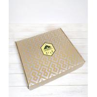 Bundle premium box - sticker - wrapping paper lebaran kotak hampers