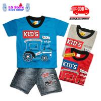 Baju Anak Laki Laki Setelan Celana Semi Jeans Stelan Anak Cowok Laki2