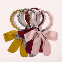 Korean Ribbon Headband / Bando Korea Pita Dewasa Girly / Bandana