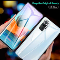 Hydrogel Redmi Note 10 Pro Anti Gores Jelly Depan Belakang Full Cover