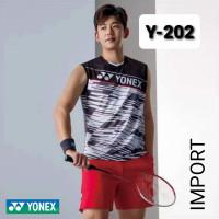 baju kaos singlet badminton bulutangkis yonex import y 202