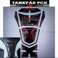 TankPad PCX 160 - Stiker timbul pelindung deck motor